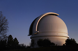 Mr. Palomar Observatory at dusk