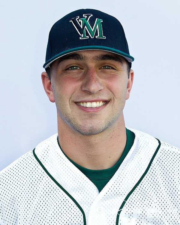 David D'Errico #48<br /> Occupation: Pitcher, Hofstra University Hempstead, NY, 2012<br /> Position: Assistant Baseball Coach, Vermont Mountaineers, 2012