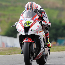 British Superbikes, Knockhill, 16-06-2013<br /> <br /> Rapid Solicitors Shane Byrne<br /> <br /> (c) David Wardle | StockPix.eu