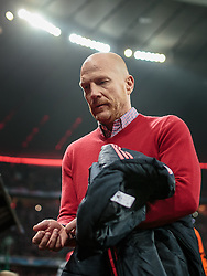 04.11.2015, Allianz Arena, Muenchen, GER, UEFA CL, FC Bayern Muenchen vs FC Arsenal, Gruppe F, im Bild Sportvorstand Matthias Sammer (FC Bayern) // during the UEFA Champions League group F match between FC Bayern Munich and FC Arsenal at the Allianz Arena in Munich, Germany on 2015/11/04. EXPA Pictures © 2015, PhotoCredit: EXPA/ JFK