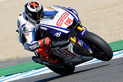01.05.2010, Motomondiale, Jerez de la Frontera, ESP, MotoGP, Race, im Bild Jorge Lorenzo - Fiat Yamaha team. EXPA Pictures © 2010, PhotoCredit: EXPA/ InsideFoto / SPORTIDA PHOTO AGENCY
