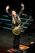 Slade In Concert in aid of The Lord's Taverners<br /> live at KOKO, Camden Town, London, Great Britain <br /> 18th December 2011 <br /> <br /> Photograph by Elliott Franks<br /> <br /> Slade are an English rock band from Wolverhampton, who rose to prominence during the glam rock era of the early 1970s. With 17 consecutive Top 20 hits and six number ones, the British Hit Singles &amp; Albums names them as the most successful British group of the 1970s based on sales of singles. They were the first act to have three singles enter at number one, and all six of the band's chart-toppers were penned by Noddy Holder and Jim Lea. Total UK sales stand at 6,520,171, and their best selling single, &quot;Merry Xmas Everybody&quot;, has sold in excess of one million copies. <br /> <br /> Current band members are:<br /> <br /> Dave Hill<br /> Don Powell<br /> John Berry<br /> Mal McNulty