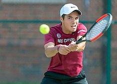 2019 NC Central Men's Tennis vs SC State