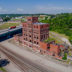 Imperial Brewery historic structure awaiting reuse; Kansas City, Missouri.