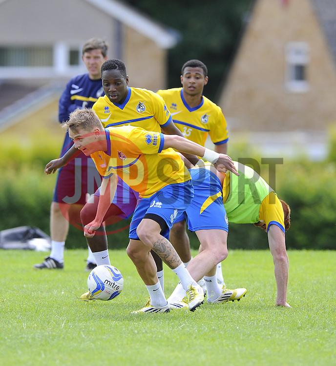 Bristol Rovers' Eliot Richards - Photo mandatory by-line: Joe Meredith/JMP - Tel: Mobile: 07966 386802 24/06/2013 - SPORT - FOOTBALL - Bristol -  Bristol Rovers - Pre Season Training - Npower League Two