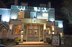 ©Licensed to London News Pictures 21/03/2020<br /> Chislehurst, UK. Queens Head in Chislehurst. The first night of pubs and restaurants closed in South East London due to the Coronavirus outbreak. Photo credit: Grant Falvey/LNP