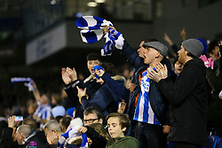 Brighton & Hove Albion fans cheers on their team - Mandatory by-line: Jason Brown/JMP - 10/03/2017 - FOOTBALL - Amex Stadium - Brighton, England - Brighton and Hove Albion v Derby County - Sky Bet Championship