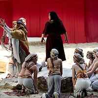 Nederland, Tegelen, 10 mei 2015.<br /> Premiere Passiespelen Tegelen in opnluchttheater De Doolhof.<br /> Foto: Jean-Pierre Jans<br /> <br /> <br /> <br /> Foto: Jean-Pierre Jans