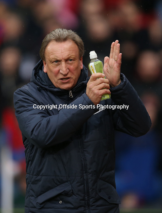 23 November 2014 - Barclays Premier League - Crystal Palace v Liverpool - Neil Warnock manager of Crystal Palace applauds - Photo: Marc Atkins / Offside.