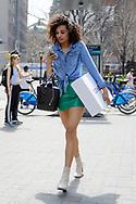 Miniskirt and Boots, Soho, April 2018
