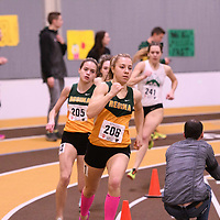 Robyn Ham in action during the 2018 Canada West Track & Field Championship on February  24 at James Daly Fieldhouse. Credit: Arthur Ward/Arthur Images
