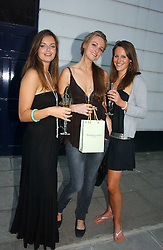 Left to right, LADY NATASHA RUFUS-ISAACS, BRYONY DANILES and KATHERINE ACLAND at a party to celebrate the re-launh of Penhaligon's at 132 Kings Road, London SW3 on 7th June 2006.<br />