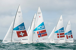 2012 Olympic Games London / Weymouth<br /> <br /> Marazzi Flavio, De Maria Enrico, (SUI, Star)<br /> Melleby Eivind, PEDERSEN Petter Morland, (NOR, Star)<br /> HESTBAEK Michael, Olesen Claus, (DEN, Star)<br /> Clarke Richard, Bjorn Tyler, (CAN, Star)