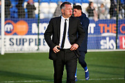 A disappointed Peterborough Manager Darren Ferguson after the EFL Sky Bet League 1 match between Peterborough United and Burton Albion at London Road, Peterborough, England on 4 May 2019.