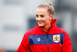 Poppy Wilson of Bristol City prior to kick off - Mandatory by-line: Ryan Hiscott/JMP - 14/10/2018 - FOOTBALL - Stoke Gifford Stadium - Bristol, England - Bristol City Women v Birmingham City Women - FA Women's Super League 1