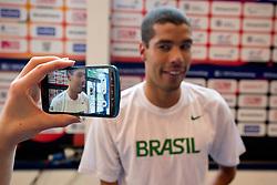 DIAS Daniel in the mixed zone BRA at 2015 IPC Swimming World Championships -  Mixed Zone