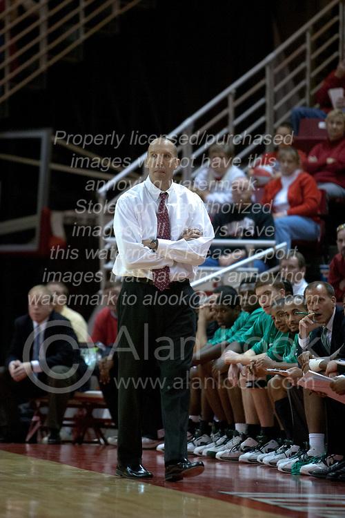 11 December 2004<br /> <br /> Thundering Herd Head Coach Ron Jirsa<br /> <br /> ISU Redbirds V Marshall Thundering Herd NCAA Men's Basketball.  Redbird Arena, Illinois State University, Normal IL