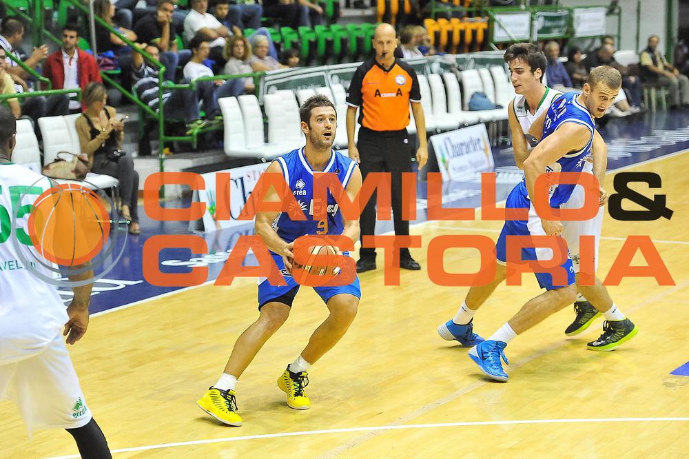 DESCRIZIONE : Torneo Citt&agrave; di Sassari Enel Brindisi - Sidigas Scandone Avellino<br /> GIOCATORE : Mateo Formenti<br /> CATEGORIA : Tiro<br /> SQUADRA :  Enel Brindisi <br /> EVENTO :  Torneo Citt&agrave; di Sassari <br /> GARA : Enel Brindisi - Sidigas Scandone Avellino<br /> DATA : 06/10/2013<br /> SPORT : Pallacanestro <br /> AUTORE : Agenzia Ciamillo-Castoria / Luigi Canu<br /> Galleria : Precampionato 2013-2014<br /> Fotonotizia :  Torneo Citt&agrave; di Sassari Enel Brindisi - Sidigas Scandone Avellino<br /> Predefinita :