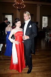 CHASE REID and BELLA SOKOL at the 13th annual Russian Summer Ball held at the Banqueting House, Whitehall, London on 14th June 2008.<br /><br />NON EXCLUSIVE - WORLD RIGHTS