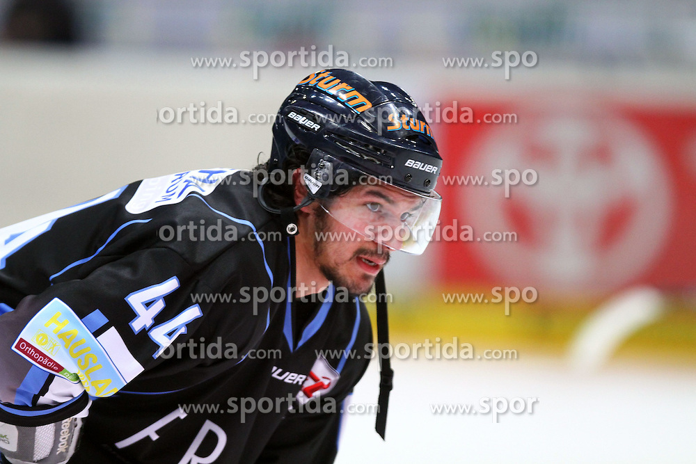 27.02.2015, Lanxess Arena, K&ouml;ln, GER, DEL, K&ouml;lner Haie vs Straubing Tigers, 51. Runde, im Bild Jred Gomes (Straubing) // during Germans DEL Icehockey League 51st round match between K&ouml;lner Haie and Straubing Tigers at the Lanxess Arena in K&ouml;ln, Germany on 2015/02/27. EXPA Pictures &copy; 2015, PhotoCredit: EXPA/ Eibner-Pressefoto/ Weiss<br /> <br /> *****ATTENTION - OUT of GER*****