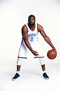 Oklahoma City Thunder media day portraits in Oklahoma City, Oklahoma on September 25, 2017.