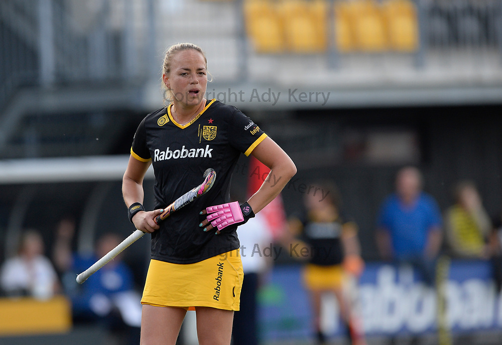 Den Bosch's Maartje Paumen during their opening game of the EHCC 2017 at Den Bosch HC, The Netherlands, 2nd June 2017