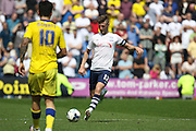 Preston Midfielder Paul Gallagher during the Sky Bet Championship match between Preston North End and Leeds United at Deepdale, Preston, England on 7 May 2016. Photo by Pete Burns.