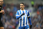 Brighton striker, Anthony Knockaert (27) during the Sky Bet Championship match between Brighton and Hove Albion and Bolton Wanderers at the American Express Community Stadium, Brighton and Hove, England on 13 February 2016.