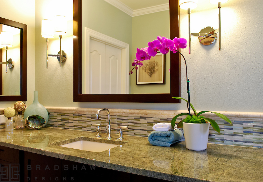 HELOTES SPA BATH, CABINETS: JIM CUNY, CONTRACTOR: CROSS CONSTRUCTION, GRANITE: ALAMO TILE AND STONE; HARDWARE:  ALLEN & ALLEN.
