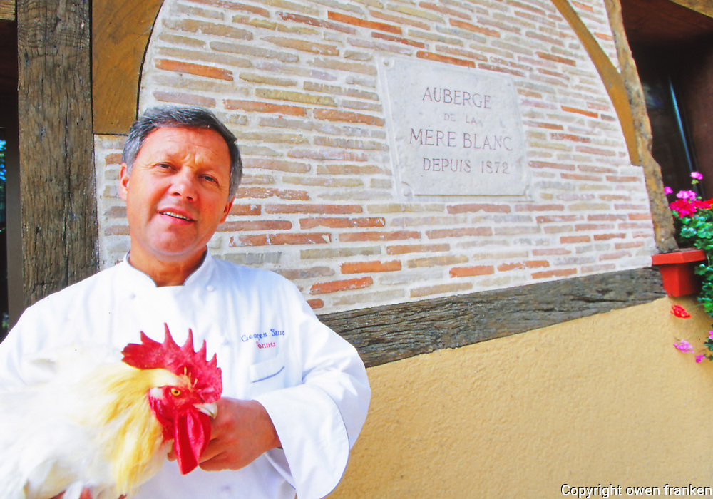 Chef Georges Blanc - Three star chef in Burgundy, France