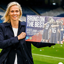 Scottish Womens National Team presser, Glasgow, 23 October 2018
