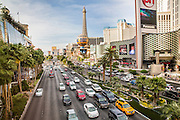Las Vegas Cityscape and traffic