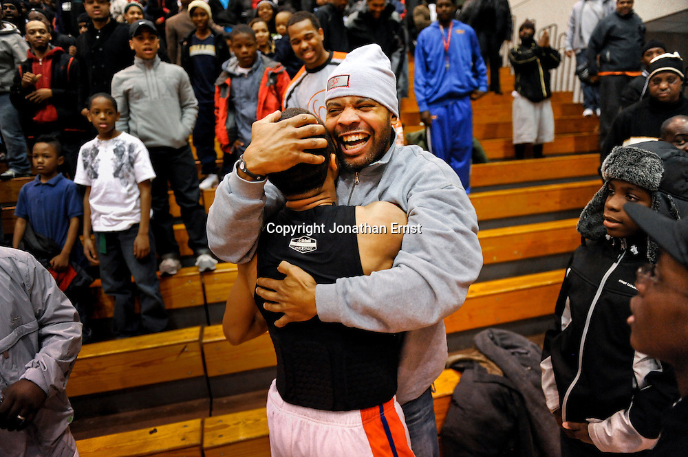 WASHINGTON - FEBRUARY 26: Eastern's xxxx Theodore Roosevelt's xxxx during their DCIAA girls's championship basketball game on February 26, 2011, at Coolidge High School in Washington. (Photo by Jonathan Ernst/For the Washington Post)