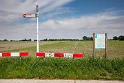 Het fietsknooppunt Onnase Doodweg tussen Steenwijk en Meppel.<br /> <br /> The bike path between Steenwijk and Meppel.