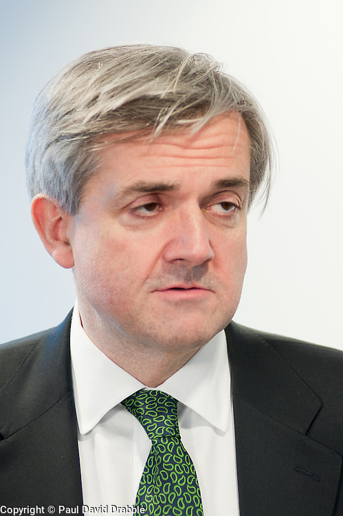 Chris Huhne Secretary of State for Energy and Climate Change .24 February 2011.Images © Paul David Drabble
