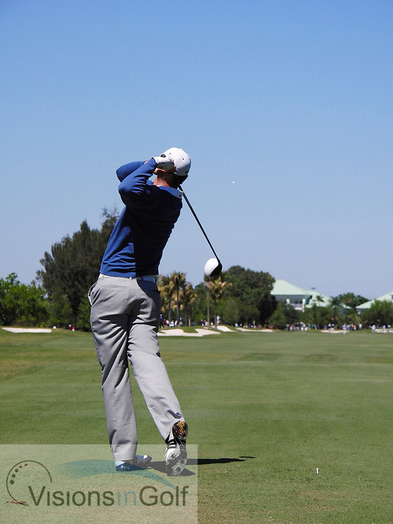 Justin Rose high speed swing sequence March 2011<br /> <br /> Mandatory Picture Credit:  Mark Newcombe / visionsingolf.com