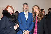 NATHALIE VALLOIS; KEITH TYSON; HEATHER KERZNER, Panta Rhei. An exhibition of work by Keith Tyson. The Pace Gallery. Burlington Gdns. 6 February 2013.