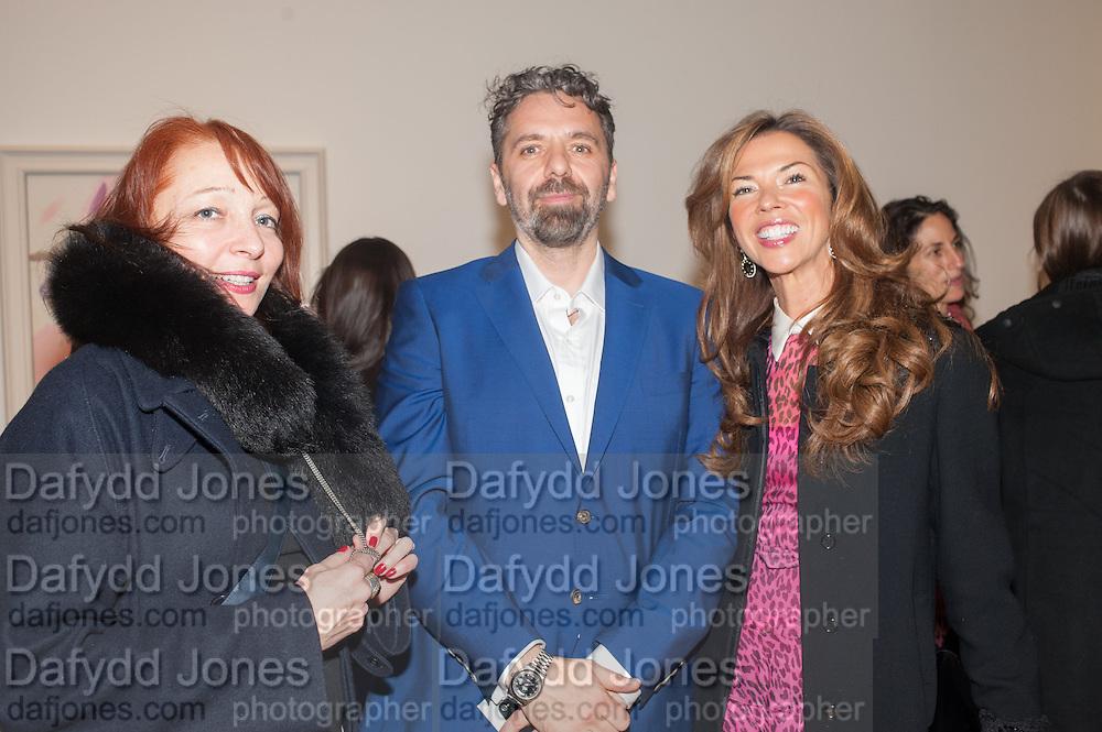 NATHALIE VALLOIS; KEITH TYSON; HEATHER KERZNER, Panta Rhei. An exhibition of work by Keith Tyson. The Pace Gallery. Burlington Gdns. 6 February 2013.
