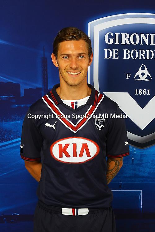 Ludovic OBRANIAK - 13.09.2013 - Photo officielle Bordeaux - Ligue 1<br /> Photo : Icon Sport