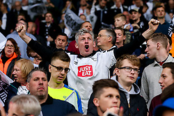 Derby County fans ahead of the Sky Bet Championship Playoff Semi-Final against Fulham - Mandatory by-line: Robbie Stephenson/JMP - 11/05/2018 - FOOTBALL - Pride Park Stadium - Derby, England - Derby County v Fulham - Sky Bet Championship