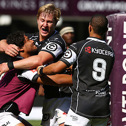 Durban, Saturday August 2015, GV during <br /> The Cell C Sharks U19 vs  Eastern Province Kings U19 Growthpoint Kings Park, (Photo by Steve Haag)