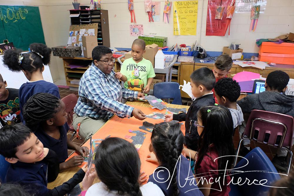 2018 West Learning Community Teacher of the Year April Johnson (Art)