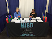 HISD participates in the 30th annual Houston Hispanic Forum Career Education Day.