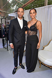 Marvin Humes & Rochelle Humes at the Glamour Women of The Year Awards 2017 in association with Next held in Berkeley Square Gardens, London England. 6 June 2017.