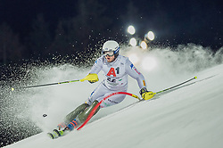 "29.01.2019, Planai, Schladming, AUT, FIS Weltcup Ski Alpin, Slalom, Herren, 1. Lauf, im Bild Giuliano Razzoli (ITA) // Giuliano Razzoli of Italy in action during his 1st run of men's Slalom ""the Nightrace"" of FIS ski alpine world cup at the Planai in Schladming, Austria on 2019/01/29. EXPA Pictures © 2019, PhotoCredit: EXPA/ Dominik Angerer"