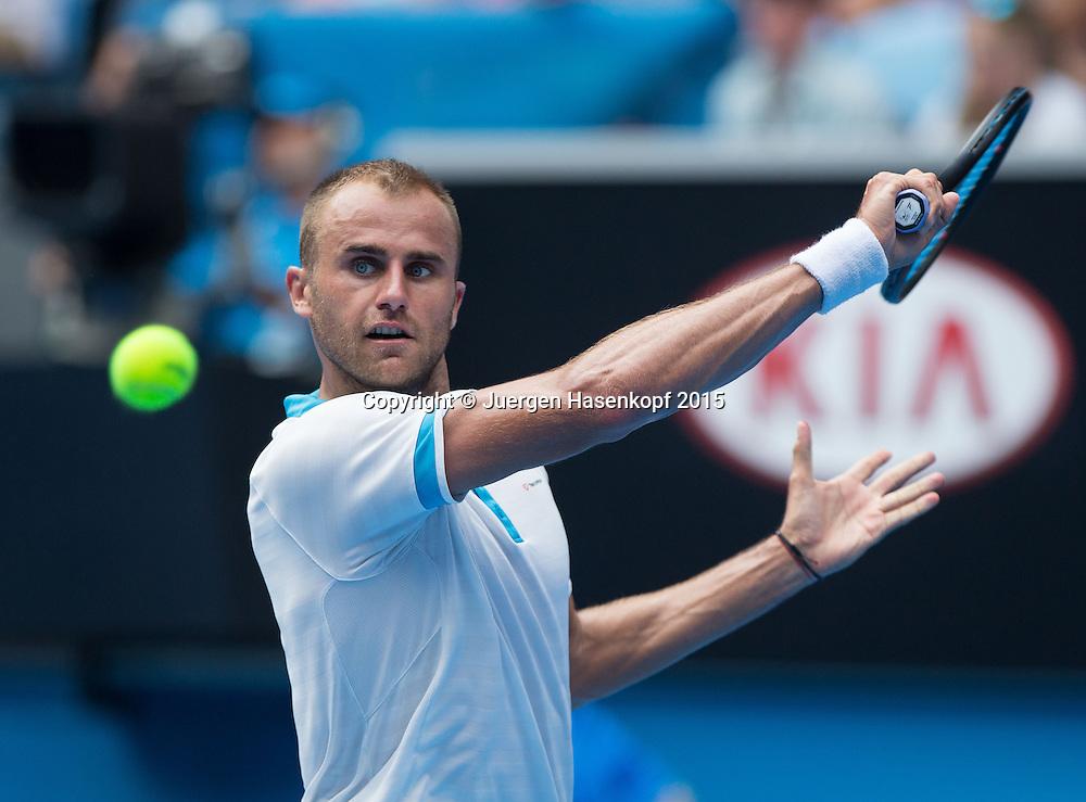 Marius Copil (ROU)<br /> <br />  - Australian Open 2015 -  -  Melbourne Park Tennis Centre - Melbourne - Victoria - Australia  - 22 January 2015. <br /> &copy; Juergen Hasenkopf