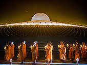 Makha Bucha Day at Wat Phra Dhammakaya