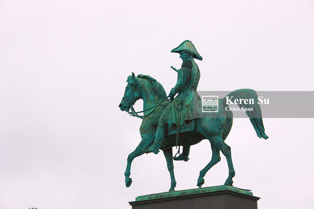 Statue of Karl XIV Johan, Stockholm, Sweden