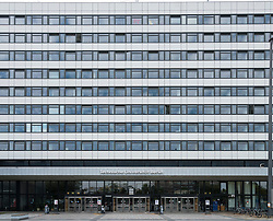 Exterior of faculty building at Technical University of Berlin, Germany