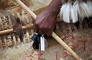 Zulu warrior who arrived by car. Isandlwana. Zululand..©Zute Lightfoot.DVD0018